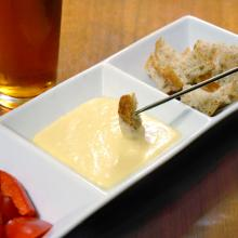 Burning River Pale Ale Cheese Fondue